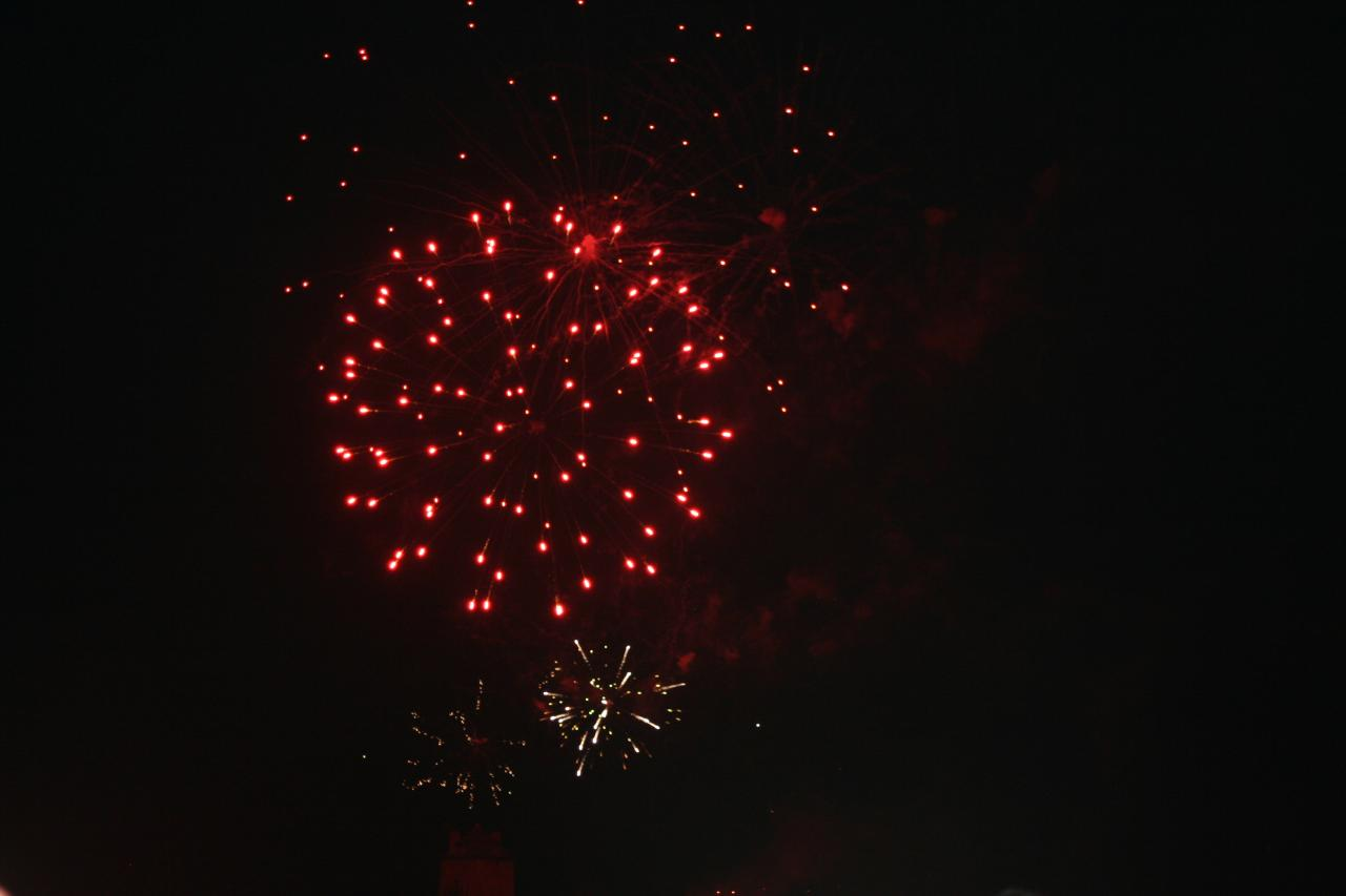 feux d'artifice camaret2014