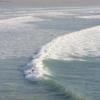 Surf à Kerloc'h en février