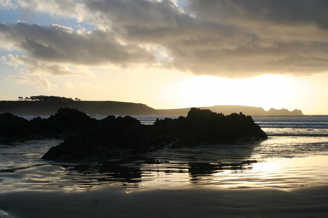 Kersiguénou marée basse