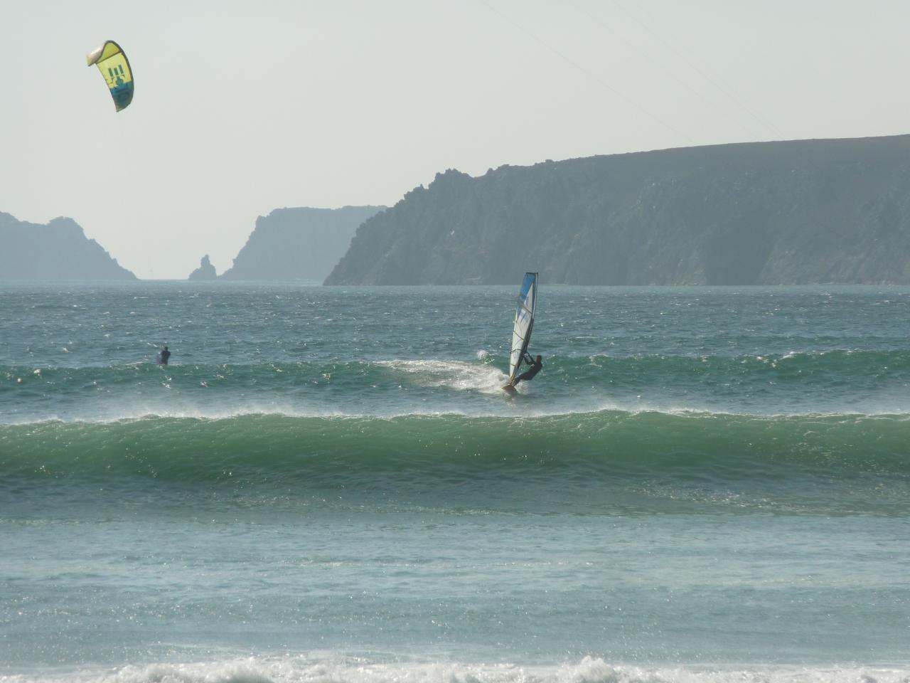 kite surf à goulien