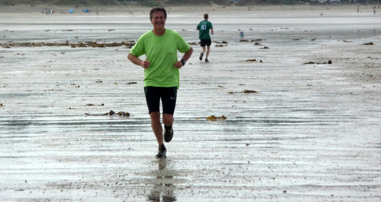 Jogging plage goulien